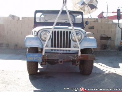 1958 Jeep Willys CJ2a